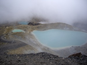 The Emarald and Blue Lakes.