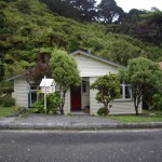 Bruce and Nancy's old house in Wellington.