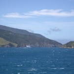 View of Queen Charlotte Sound from the ferry