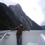 On the cruise in Milford Sound
