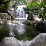 Waterfall in the Chinese Gardens