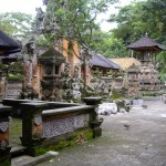 Hindu Temple at the Sacred Monkey Forest