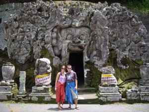 The Elephant Temple at Goa Gajah