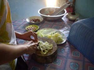 Cooking with Putu