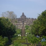 The Buddhist monument of Borobudur