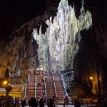 Inside the Batu Caves