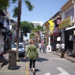 Cruising the streets of Georgetown, Penang...mmm...food...