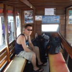 On the public bus to Karon beach!