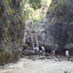 "The ""back door"" to Maya Beach"