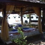 Thai massage on the beach - so awesome