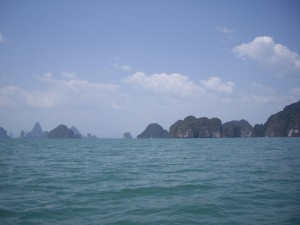 Pretty much what all of Phang-Nga Bay looks like