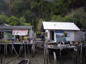 The shanty shacks of Panyi