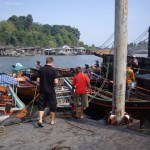 Leaving Thailand to cross into Burma