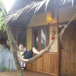 Our hut at Baan Panburi - not quite as nice as the old one