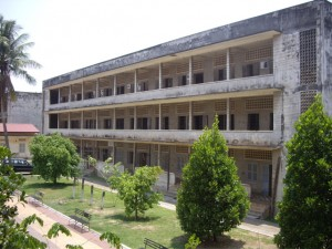 S-21, a former high school turned prison
