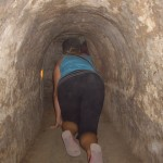Kenna's ass in a tunnel.