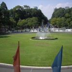 The fountains at Reunification Palace