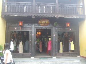 A typical Hoi An shop