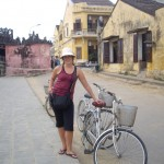 Biking through Hoi An's Ancient Town