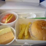 The cute little airplane lunch