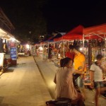 The Night Market in Luang Prabang
