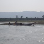 An example of the traditional boats that we saw all along the Mekong