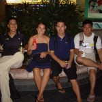 Drinking in the streets of Singapore