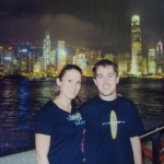 The last night of our adventure in Hong Kong (and our five year anniversary!)